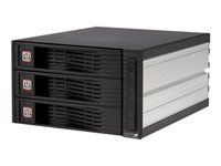 StarTech.com 3 Drive 3.5in Trayless Hot Swap SATA Mobile Rack Backplane