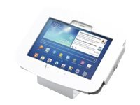 Compulocks Galaxy Secure Space Enclosure with 45° Kiosk White